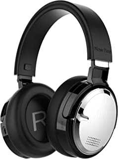 Active Noise Cancelling Bluetooth Headphones New Bee 70H Playtime ANC Wireless Headphones w/Mic Siri Voice Control Hi-Fi S...