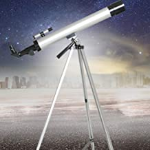 Búsqueda Automática de Estrellas Computarizada, Telescopio Práctico Refractor de Telescopio Telescopio Práctico Alcance Del Telescopio, Película Verde Multicapa con Montura Ecuatorial, Longitud Focal