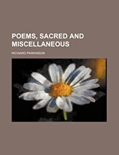 Poems, Sacred and Miscellaneous