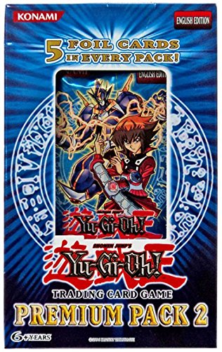 YuGiOh Premium Pack 2 Booster Pack [Special Edition]