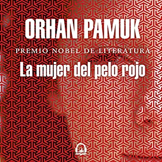 La mujer del pelo rojo [The Woman with the Red Hair] audiobook cover art