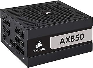 Corsair AX850 Unidad de - Fuente de alimentación (850 W, 100-240 V, 50/60 Hz, 11 A, 100 W, 840 W)