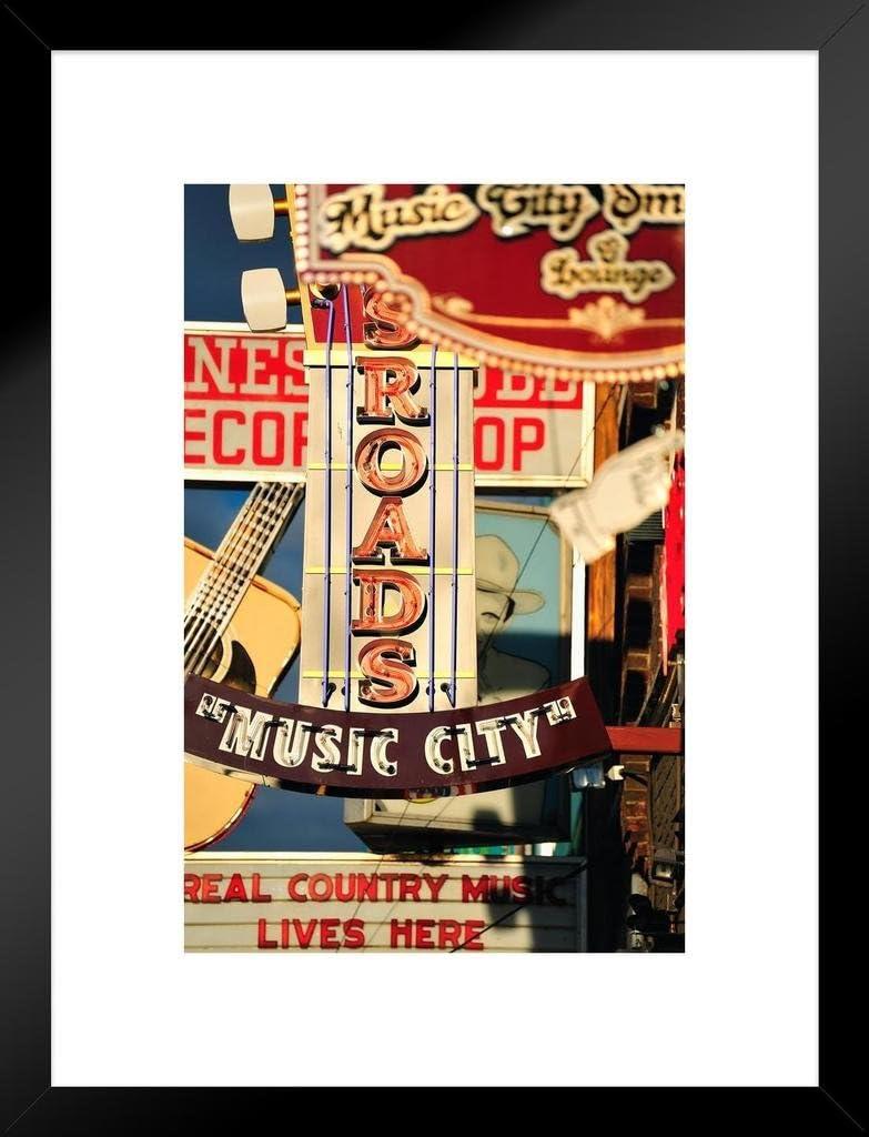 Nashville art photography set of 3 prints Nashville signs country music decor home office art downtown Nashville TN Nashville gifts wall art