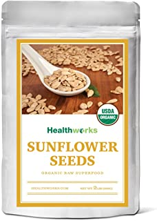 Healthworks Sunflower Seeds Shelled Organic, 2lb