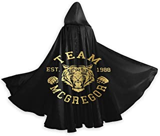 McGregor Tiger Conor McGregor Womans Mans Unisex Costumes Capes Cloak with Hood for Halloween Party