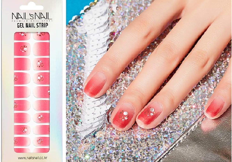 エリート体細胞飼いならす\貼るジェルネイル/Nail's Nail(ネイルスネイル) ジェルネイルストリップ 139