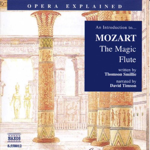 Mozart: The Magic Flute audiobook cover art