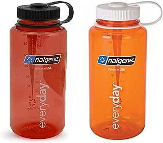 Nalgene 32 ounce (32oz) Wide Mouth (WM) Water Bottles - Set of 2