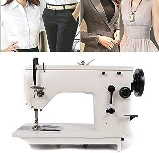 RanBB Zigzag Sewing Machine, Industrial Straight Stitch Zigzag Sew Machine Straight Curved Seam Universal Sewing Machine
