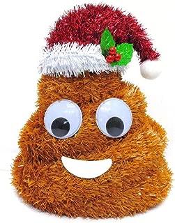 Ashland Tinsel Poo Poop 10 inch Holiday Tabletop Decor