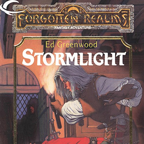 Stormlight audiobook cover art
