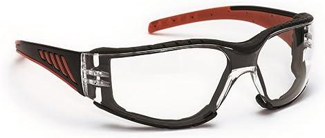 Schmerler İş Gözlüğü 622 Çizilmelere Dayanıklı Buğulanmaz İş Güvenliği Koruma Gözlüğü Kırmızı Siyah