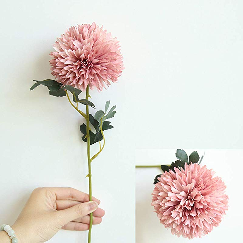 FLOGZONE 5 Sell Dandelion Flower Ball Simulation Flower Home Decoration Wedding Holding Flower Road Lead Flower Wall Fake Flower
