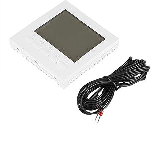 Kuuleyn ABS WiFi Thermostat,Programmable WiFi Wireless Heating Thermostat Digital LCD Screen App Control (110V)