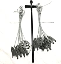 AuSable Brand Trap Anchor Cable Stake Value Package - Includes FREE AuSable Magnum Driver (2 Dozen)