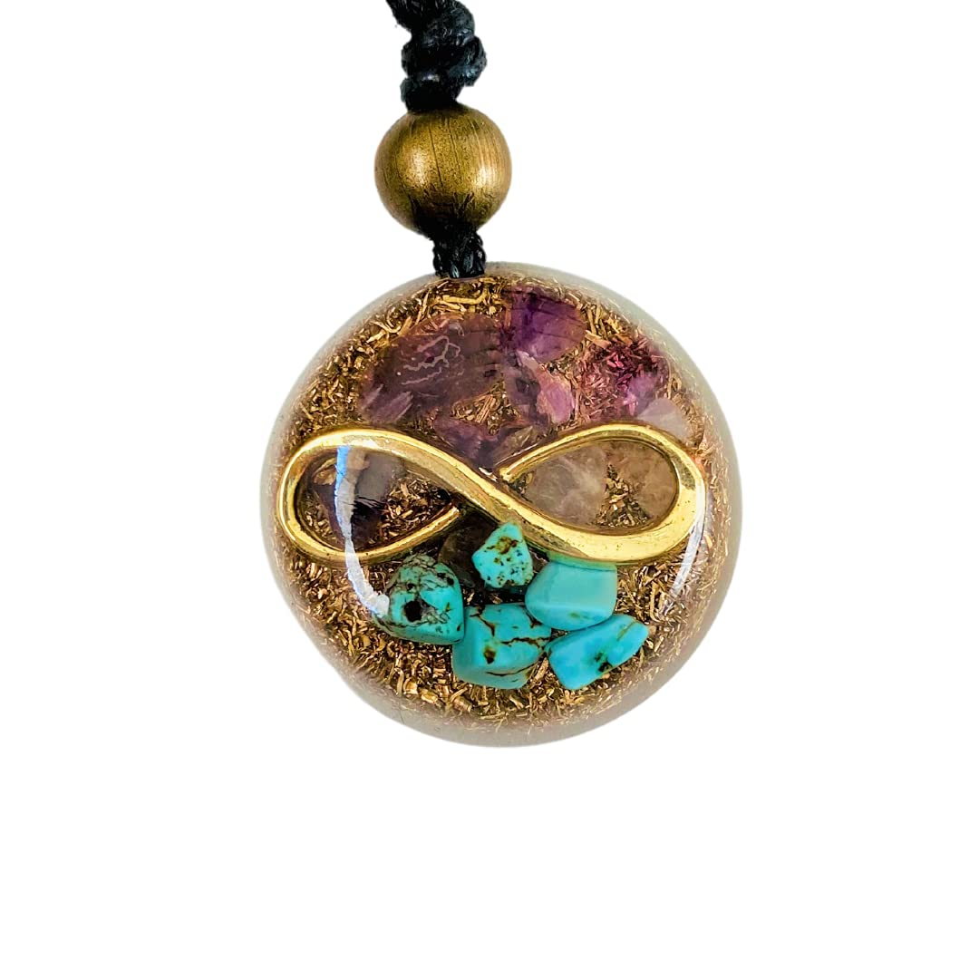 Orgone Necklace Kinds Infinite St Healing Crystals Protection Fort Online limited product Worth Mall