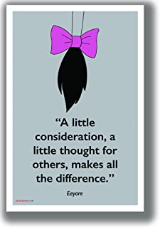 PosterEnvy A Little Consideration - Eeyore - NEW Motivational Classroom POSTER