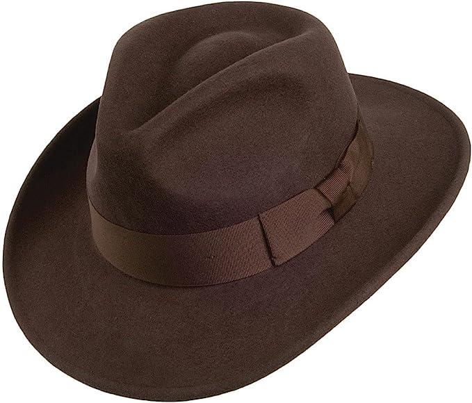 Men's Vintage Clothing | Retro Clothing for Men Jaxon & James Ford Fedora - Brown £46.95 AT vintagedancer.com