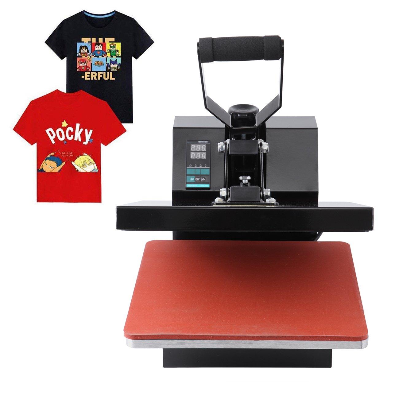 Ridgeyard Profesional prensa de calor camisetas prensa termica ...