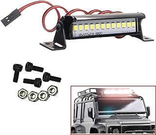 Spotlight Row Roof Lamp Ceiling Light Bar For 1//10 RC Climb Car SCX10 D90 TRX4