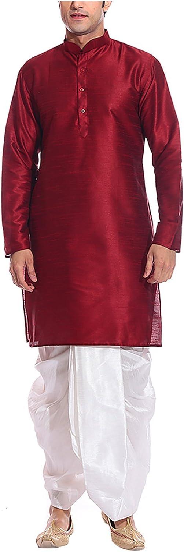 ROYAL Men's Silk Blend Bollywood Dress
