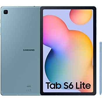 """SAMSUNG Galaxy Tab S6 Lite - Tablet de 10.4\"""" (WiFi, Procesador Exynos 9611, RAM de 4GB, Almacenamiento de 64GB, Android 10) - Color Azul [Versión española]"""