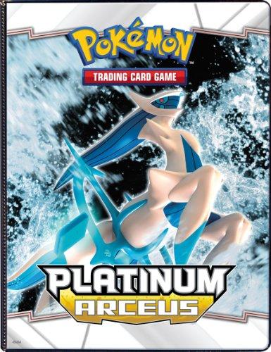 Ultra PRO Pokemon PLATINUM ARCEUS 4 POCKET Combo Album PORTFOLIO (Pokemon Trading Card Album / Binder) image
