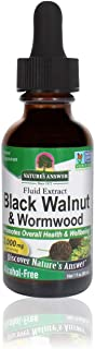 Nature's Answer Black Walnut and Wormwood Extract 1 Ounce | Promotes Overall Health and Wellbeing | Super Concentrated 2,0...