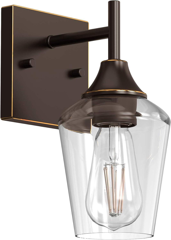 BONHAR WW05 Bronze Award-winning store Bathroom Vanity Lights Farmhouse Max 46% OFF Ligh