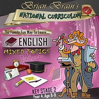 Brian Brain's National Curriculum KS2 Y4 English Mixed Topics cover art