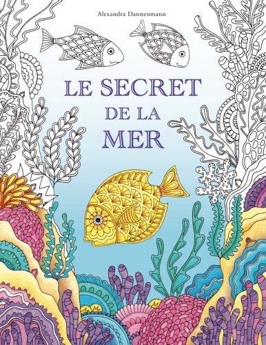 Le secret de la mer: Cherche les trésors du bateau qui a sombré. Un livre de coloriage qui promet découverte et détente.