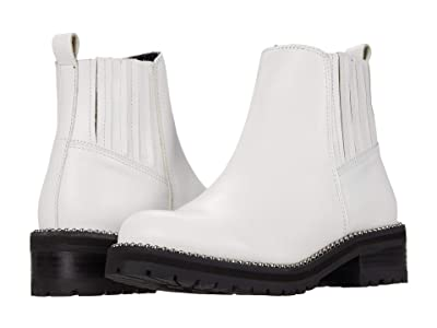 Steve Madden Gale Bootie (White Leather) Women