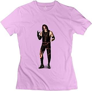 StaBe Women's Wwe Kane Undertaker T-Shirt 100% Cotton Cool XS Pink