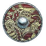 Liontouch 50002LT Escudo de Juguete de Espuma Vikingo para niños | Forma Parte de la línea de Disfraces para niños