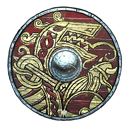 Liontouch 50002LT Mittelalter Wikinger Schild | Spielzeug aus Schaumstoff für Kinder