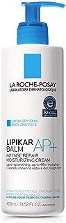 La Roche-Posay Lipikar Balm AP+ Intense Repair Body Cream for Extra Dry Skin, Body Moisturizer to Hydrate & Soothe, Dermat...