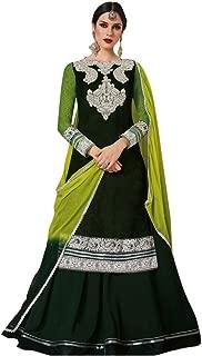 EID Bollywood Wedding Ceremony Floor poncho Length Anarkali Suit with Pant Style Grown Custom to Measure Muslim Jinnam 2734