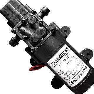CYBERNOVA DC12V 100PSI 4 L/m Fresh Water High Pressure Diaphragm Self Priming Pump with Pressure Switch Caravan/Boat/RV/Garden//Vehicle Cleaning (CN3210-SZ)