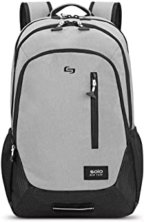 Solo New York Varsity Region Laptop Backpack for women and men. Fits 15.6 inch laptop and notebook perfect for business, travel, school and college