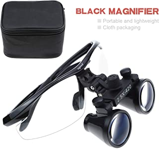Zgood 2.5X420mm Medical Surgical Loupes Head Magnifier DY-101 Color Black Dental Magnifier