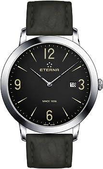 Eterna Eternity 42mm Steel Case Men's Quartz Watch