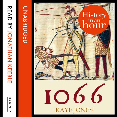 1066: History in an Hour audiobook cover art