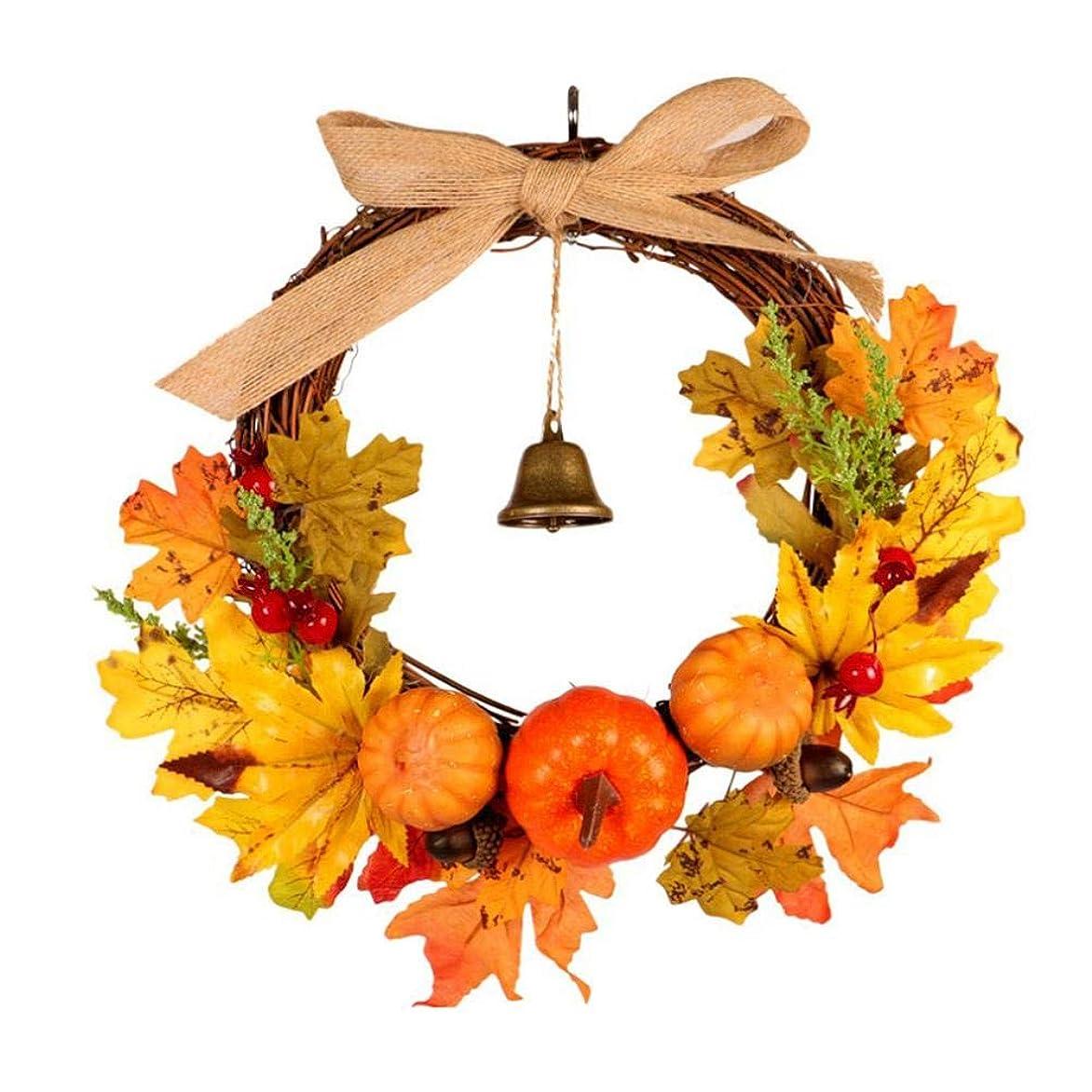 。風すべてハンドメイドリース 造花 ドアリース 飾り ハロウィン用 クリスマス用 店舗 玄関 壁掛け 庭園 飾り 家の装飾用 結婚式 造花 花輪 撮影 道具