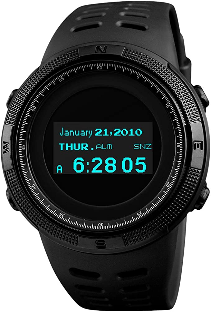 Japan Maker New Large-scale sale SKMEI Men's Digital Sports Watch Su Outdoor Military Screen OLED