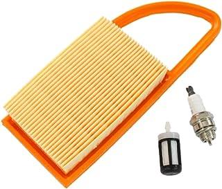 Fugift Air F🏿ltêr Fuel F🏿ltêr Spark Plüg para Stihl BR500 BR550 BR600 sopladores de mochila reemplazar 4282 141 0300 428...