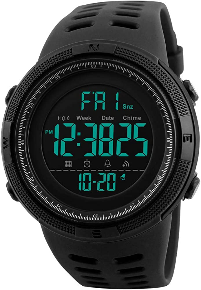 Tonnier Watch Sale Boston Mall Mens Outdoor Digital Watches Multifunction Sports