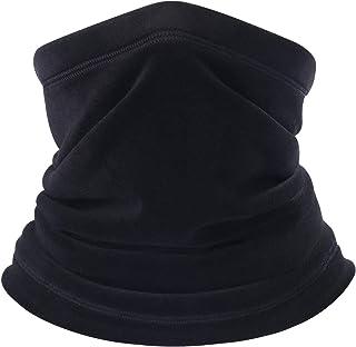 B BINMEFVN Polar Fleece Neck Warmer - Windproof Winter Neck Gaiter Cold Weather Face Mask for Men Women - 1 Pack