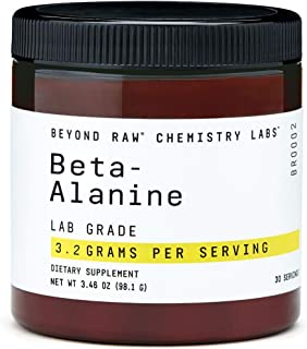 Beyond Raw Chemistry Labs Beta-Alanine, 30 Servings