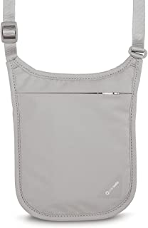Pacsafe PS10139103 Neck Pouch, Gray, One Size