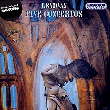 Lendvay: 5 Concertos